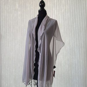 Style&co. Silver Dressy Wrap